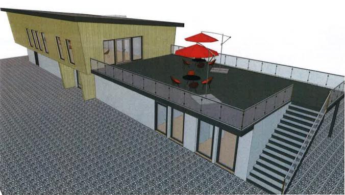 STC-Vereinsheim-Neubau in der SVZ